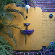 Mexican Courtyard Art Print