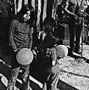 Mexican Day Armory Park Tucson Arizona 1973 Art Print