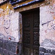 Mexican Door 34 Art Print