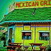 Mexican Grill Art Print
