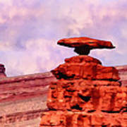 Mexican Hat Rock Art Print