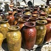 Mexican Pots I Art Print