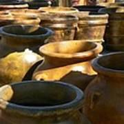 Mexican Pots Iv Art Print
