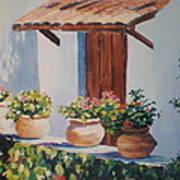 Mexican Pots Art Print