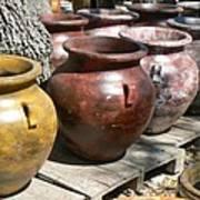 Mexican Pots V Art Print