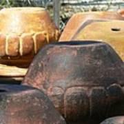 Mexican Pots Vi Art Print