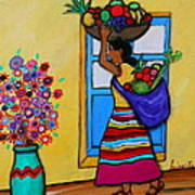 Mexican Street Vendor Art Print