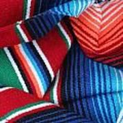 Mexican Textiles Playa Del Carmen Mexico Art Print