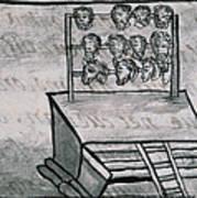 Mexico - Skull Rack Art Print