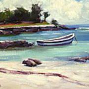 Mexico Beach Art Print