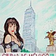 Mexico City 2008 Art Print