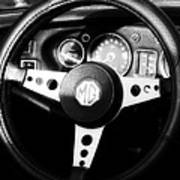 Mg Dashboard Art Print