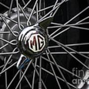 Mg Wheel Art Print
