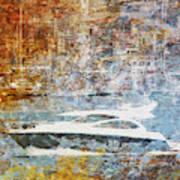 Mgl - Gold Mediterrane 05 Art Print