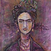 Mi Vida Mi Frida Art Print