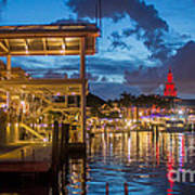 Miami Bayside Freedom Tower Art Print