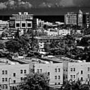 Miami Beach - 0156bw Art Print
