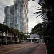Miami Beach-0166 Art Print