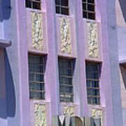 Miami Beach - Art Deco 12 Art Print