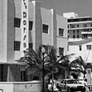 Miami Beach - Art Deco 24 Art Print
