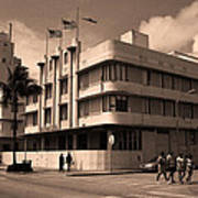 Miami Beach - Art Deco 35 Art Print