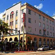 Miami Beach - Art Deco 36 Art Print
