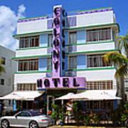Miami Beach - Art Deco 37 Art Print
