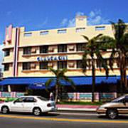 Miami Beach - Art Deco 38 Art Print
