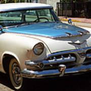 Miami Beach Classic Car 2 Art Print