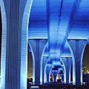 Miami Bridge Art Print