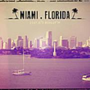 Miami Florida Art Print
