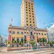 Miami Freedom Tower 4 - Miami - Florida Art Print by Ian Monk