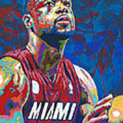 Miami Wade Art Print