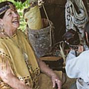 Miccosukee Indian Tribe Art Print