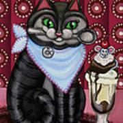 Mice Cream Art Print