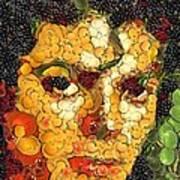 Michael Jackson In The Way Of Arcimboldo Art Print