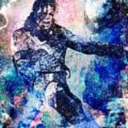Michael Jackson Original Painting  Art Print