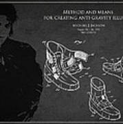 Michael Jackson Patent Art Print