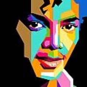 Michael Jackson Young Art Print