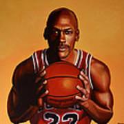 Michael Jordan 2 Art Print