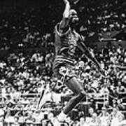Michael Jordan Gliding Art Print