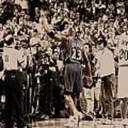 Michael Jordan Last Game II Art Print