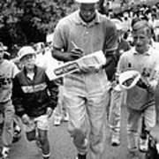 Michael Jordan Signing Autographs Print by Retro Images Archive