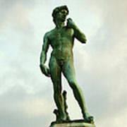Michelangelo's David 2 Art Print