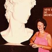 Michelangelos Statue Of David Art Print