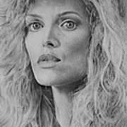 Michelle Pfeiffer Art Print