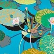 Michelles Secret Pond Art Print