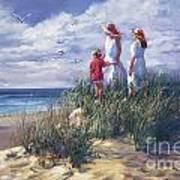Michigan Shore Memories  Art Print