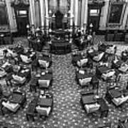 Michigan State House At Capitol  Art Print