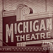 Michigan Theatre Art Print